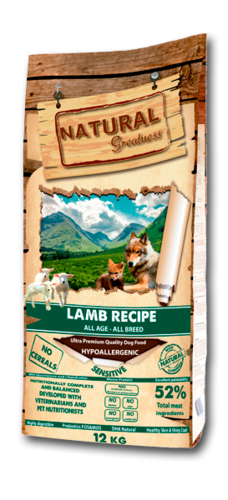 RECETA SENSITIVE LAMB (CORDERO)