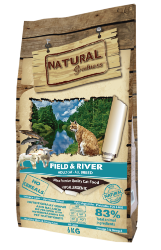 NATURAL GREATNESS RECETA FIELD & RIVER GATOS