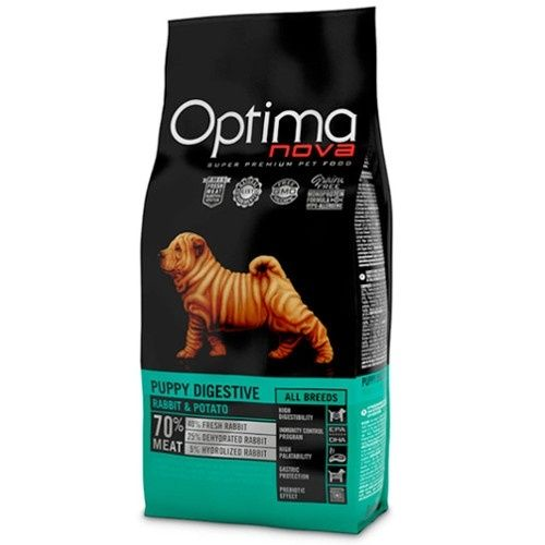 OPTIMA NOVA GRAIN FREE PUPPY DIGESTIVE RABBIT